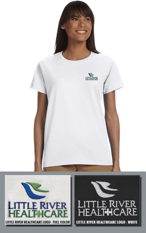 Gildan Ladies Ultra Cotton T-Shirt - Little River Healthcare