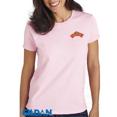 Gildan Ladies Ultra Cotton T-Shirt with Embroidery
