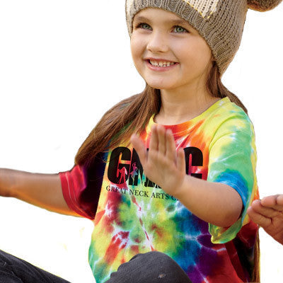Gildan Tie-Dyes Youth Rainbow Swirl Tee