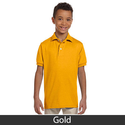 Jerzees Youth Jersey Polo With Spotshield - Printed - EZ Corporate Clothing  - 8