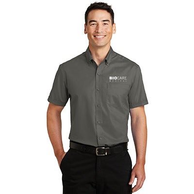 Biocare Medical Short Sleeve SuperPro Twill Shirt - Port Authority S664 - EMB