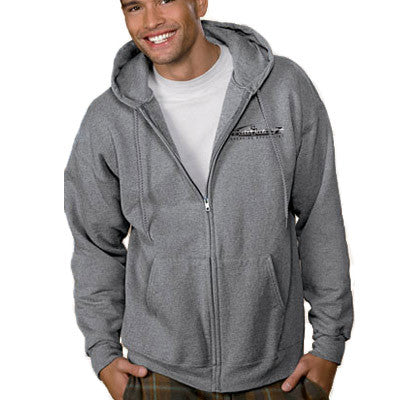Hanes Adult Ultimate Cotton Full-Zip Hooded Sweatshirt