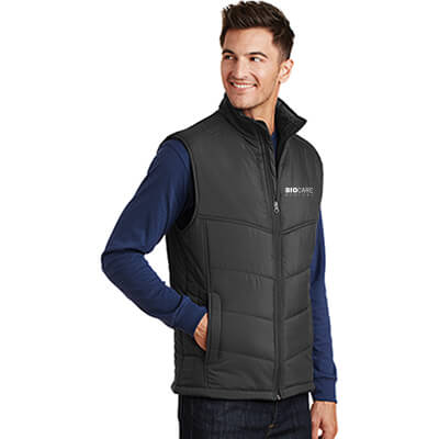 Biocare Medical Puffy Vest - Port Authority J709 - EMB