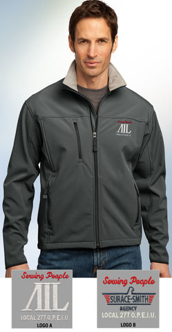 Port Authority Men's Glacier Soft Shell Jacket - AIL - EZ Corporate Clothing  - 1