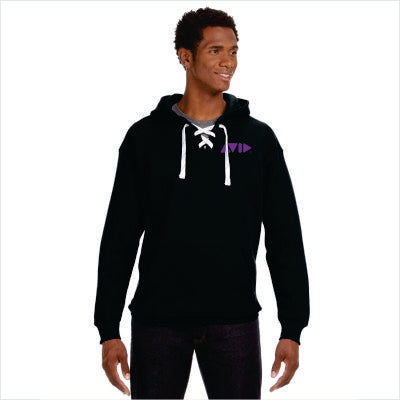 J. America Adult Sport Lace Hockey Hoody for AVID - JA8830