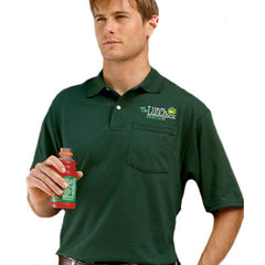 Jerzees Adult Jersey Pocket Polo With Spotshield - Printed - EZ Corporate Clothing  - 1