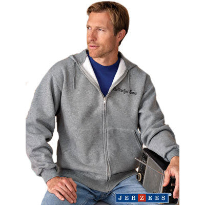 Jerzees Adult Super Sweats Full-Zip Hooded Sweatshirt - EZ Corporate Clothing  - 1