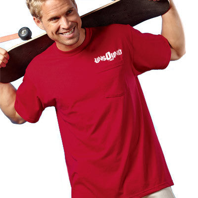 0119af9326 Jerzees Heavyweight Blend T-Shirt with Pocket - EZ Corporate Clothing - 1