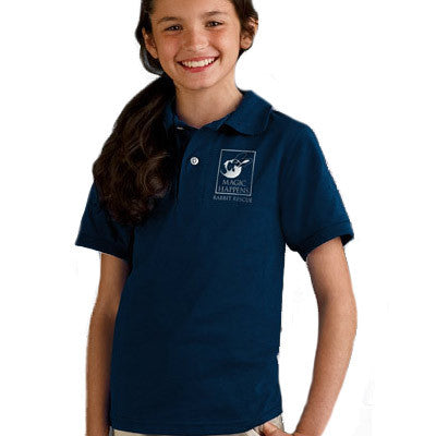 Jerzees Youth Jersey Polo With Spotshield - Printed
