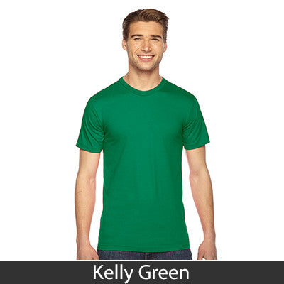 American Apparel Unisex Fine Jersey Short Sleeve T-Shirt - EZ Corporate Clothing  - 24