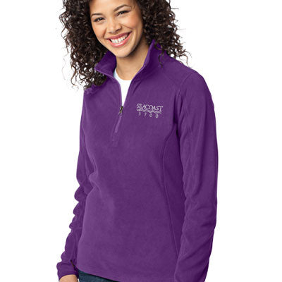 Port Authority Ladies Microfleece 1/2 Zip Pullover - EZ Corporate Clothing  - 1