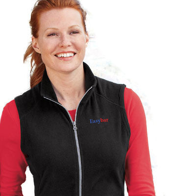 Port Authority Ladies Microfleece Vest - EZ Corporate Clothing  - 1