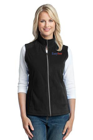 Port Authority Ladies Microfleece Vest - EZ Corporate Clothing  - 2