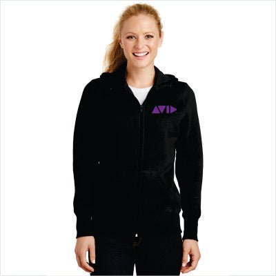 Sport-Tek Ladies Full-Zip Hooded Fleece Jacket for AVID - L265