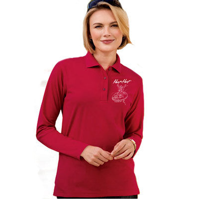 Port Authority Ladies Silk Touch Longsleeve Sport Shirt