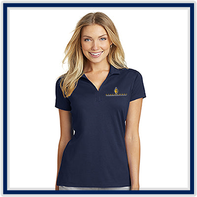Port Authority Ladies' Rapid Dry Mesh Polo - Stachowski Farms - L573