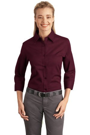 Port Authority Easy Care Ladies 3/4-Sleeve - EZ Corporate Clothing  - 3