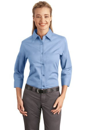 Port Authority Easy Care Ladies 3/4-Sleeve - EZ Corporate Clothing  - 4