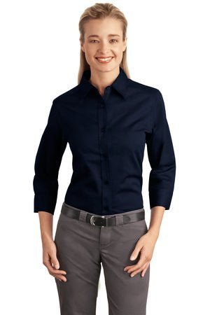Port Authority Easy Care Ladies 3/4-Sleeve - EZ Corporate Clothing  - 6