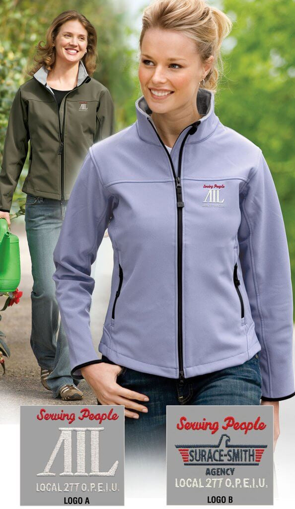 Port Authority Ladies Glacier Soft Shell Jacket - AIL
