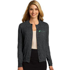 Port Authority Ladies Cardigan - Clean Energy Collective - EZ Corporate Clothing  - 1