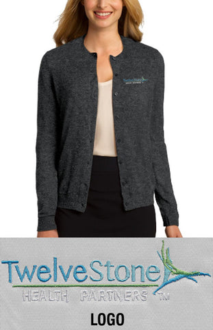 Port Authority Ladies' Cardigan - TwelveStone Health Partners