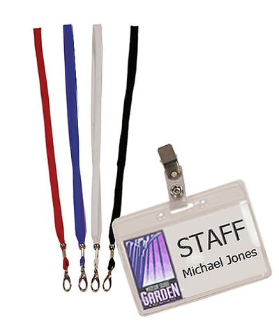 Corporate Lanyards with Holder