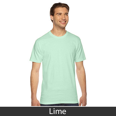 American Apparel Unisex Fine Jersey Short Sleeve T-Shirt - EZ Corporate Clothing  - 31