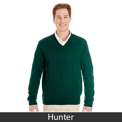 Harriton Men's Pilbloc V-Neck Sweater M420