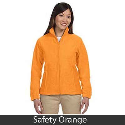 Harriton Ladies 8oz. Full-Zip Fleece - EZ Corporate Clothing  - 9