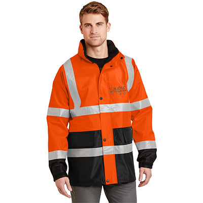 CornerStone Safety Hi-Vis Parka Jacket - ANSI 107 Class 3