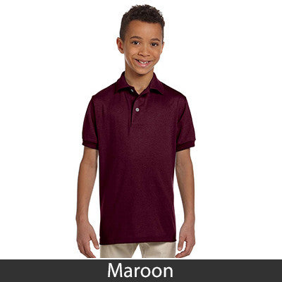 Jerzees Youth Jersey Polo With Spotshield - Printed - EZ Corporate Clothing  - 12