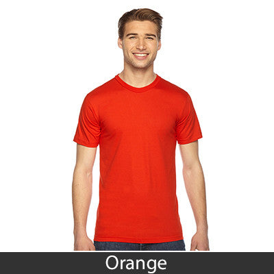 American Apparel Unisex Fine Jersey Short Sleeve T-Shirt - EZ Corporate Clothing  - 37