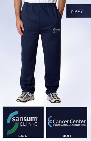Sansum Clinic Champion Open Bottom Sweatpants - EZ Corporate Clothing  - 2