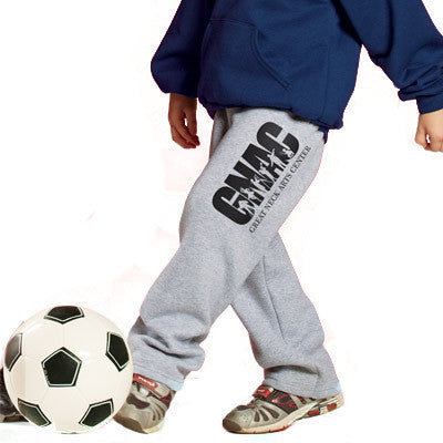 Champion Youth Open-Bottom Sweatpants
