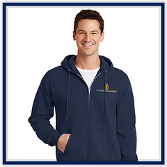 Port Authority Core Fleece Full-Zip Hooded Sweatshirt - Stachowski Farms - PC78ZH