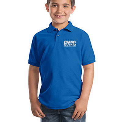 Port Authority Youth Silk Touch Polo - Printed