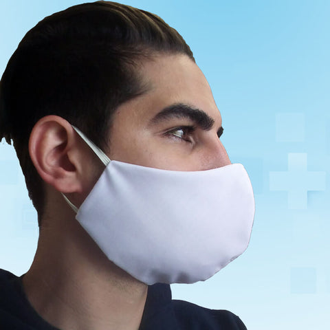 Fabric Face Mask Covering - Made in USA - 100% Cotton - Poppi 1.0