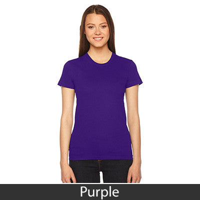 American Apparel Fine Jersey Short Sleeve Womens T - EZ Corporate Clothing  - 35