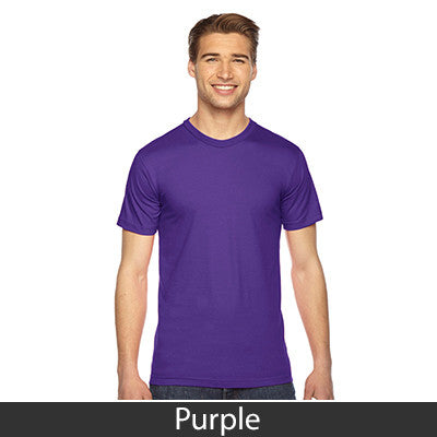 American Apparel Unisex Fine Jersey Short Sleeve T-Shirt - EZ Corporate Clothing  - 40