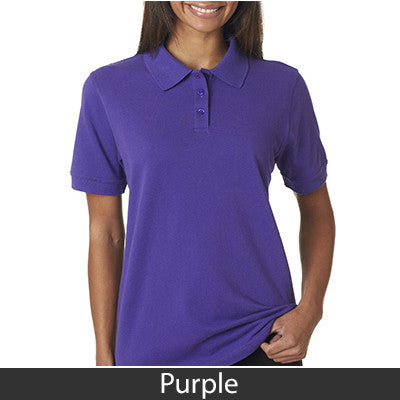 UltraClub Ladies Classic Pique Polo - EZ Corporate Clothing  - 13