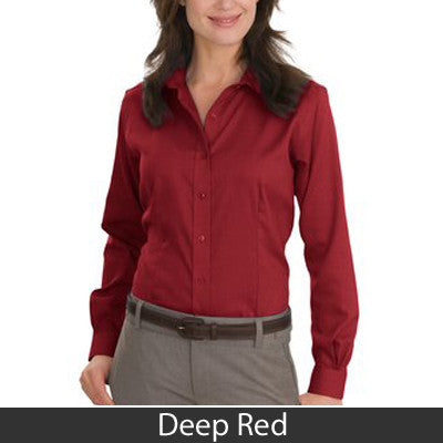 Red House Ladies Nailhead Non-Iron Button Down Shirt - Clean Energy Collective - EZ Corporate Clothing  - 5