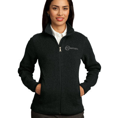Red House Ladies Sweater Fleece Full-Zip Jacket