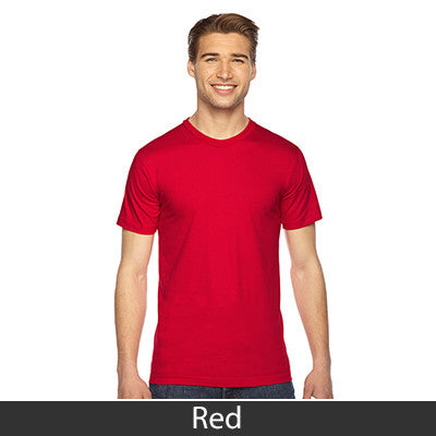 American Apparel Unisex Fine Jersey Short Sleeve T-Shirt - EZ Corporate Clothing  - 42