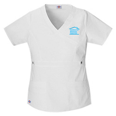 Dickies Medical 817355/ Youtility Contrast Stitch Mock Wrap Top