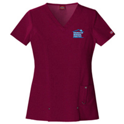 Dickies Medical Junior Fit V-Neck Top 82851