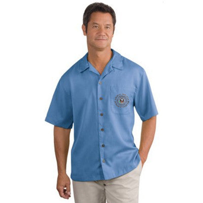 Custom Men's Casual Embroidered Shirts