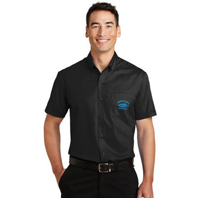 Port Authority SuperPro Twill Short Sleeve Shirt - S664