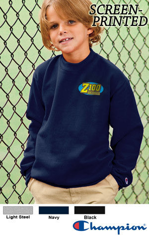 Champion Youth 50/50 Crewneck Sweatshirt - EZ Corporate Clothing  - 2