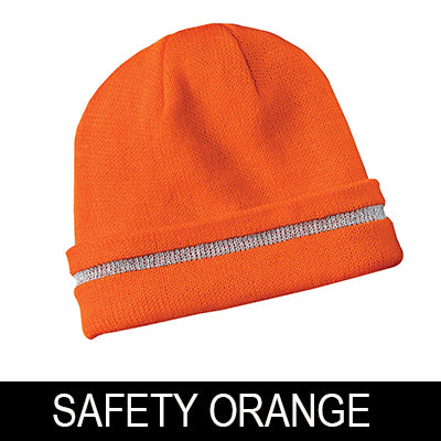 CornerStone Hi-Vis Beanie with 3M Reflective Stripe